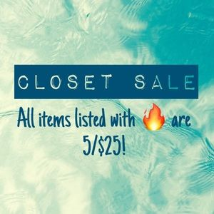 Other - Help me clean out my closet!!
